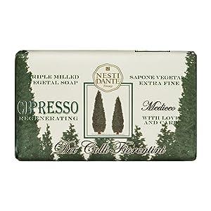 Nesti Dante Nesti dante dei colli fiorentini triple milled vegetal soap - cypress tree, 8.8oz, 8.8 Ounce