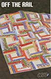 Off The Rail Quilt Pattern, Fat Quarter Friendly, 4 Size Options Baby to King