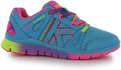 Las niñas Karrimor Duma 2 Zapatillas de Running – Azul/Rosa, Color, Talla 38 EU: Amazon.es: Zapatos y complementos