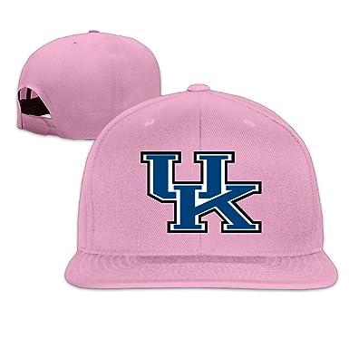 18c9ce770c6 WG Custom Summer Snapback University Of Kentucky UK Sporting Visor Cap Pink