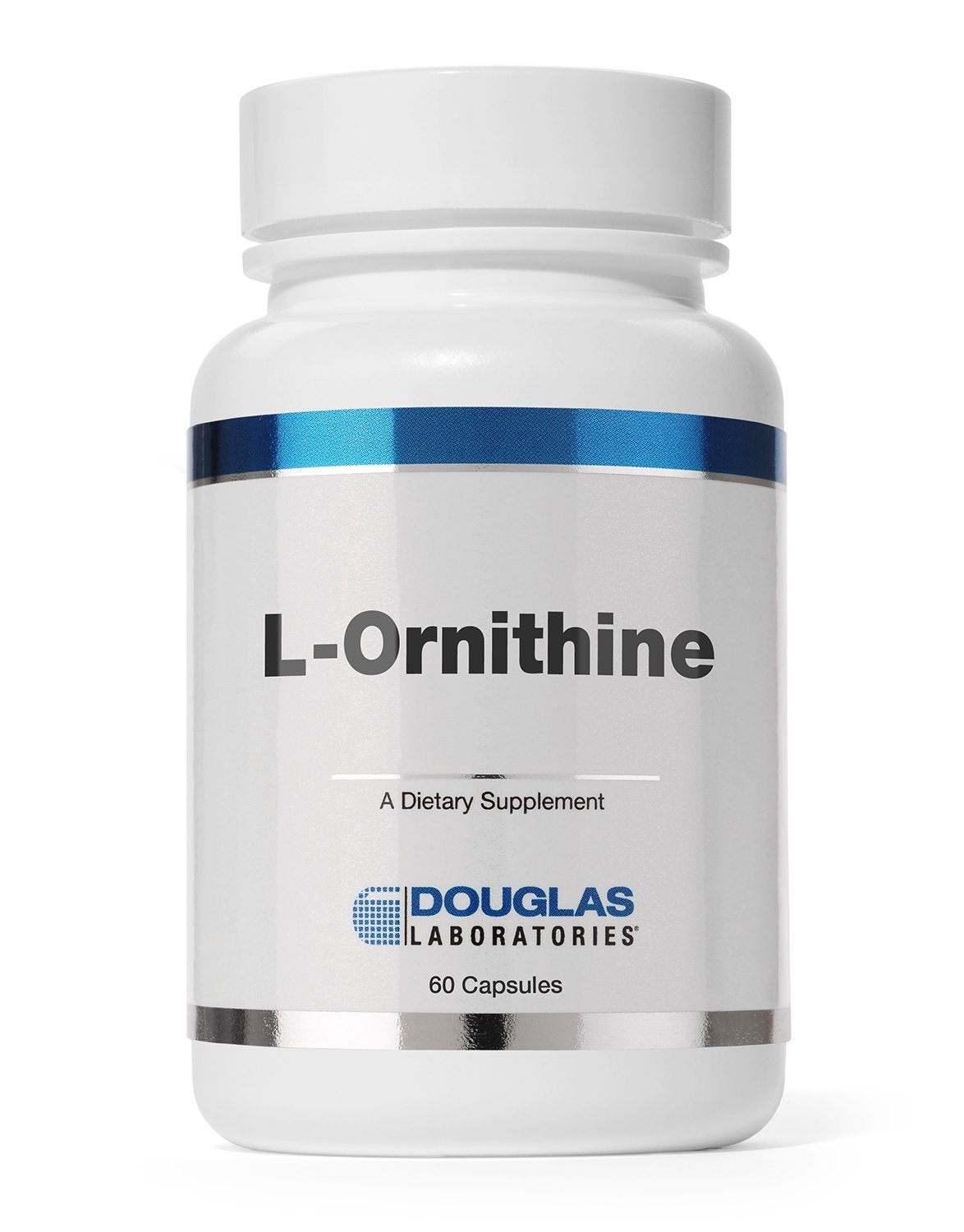 Douglas Laboratories - L-Ornithine - Supports Wound Healing, Hormones and Gastrointestinal Functioning* - 60 Capsules by Douglas Laboratories