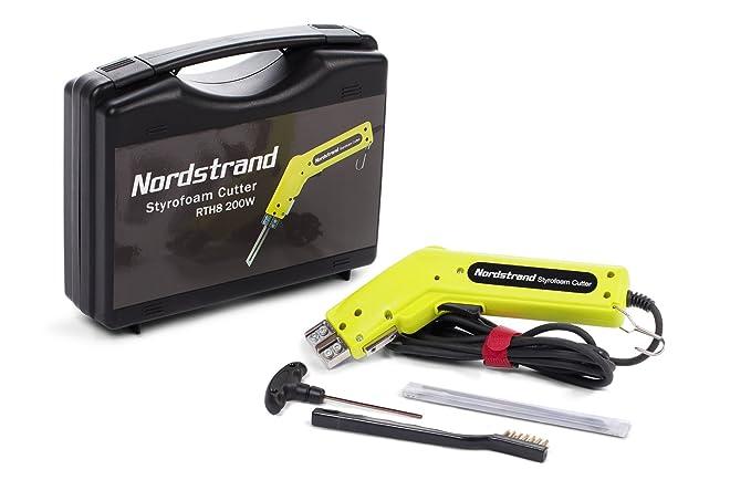 Cortador electrónico de poliestireno por calor Nordstrand 190W + cuchilla de 150mm y accesorios: Amazon.es: Bricolaje y herramientas