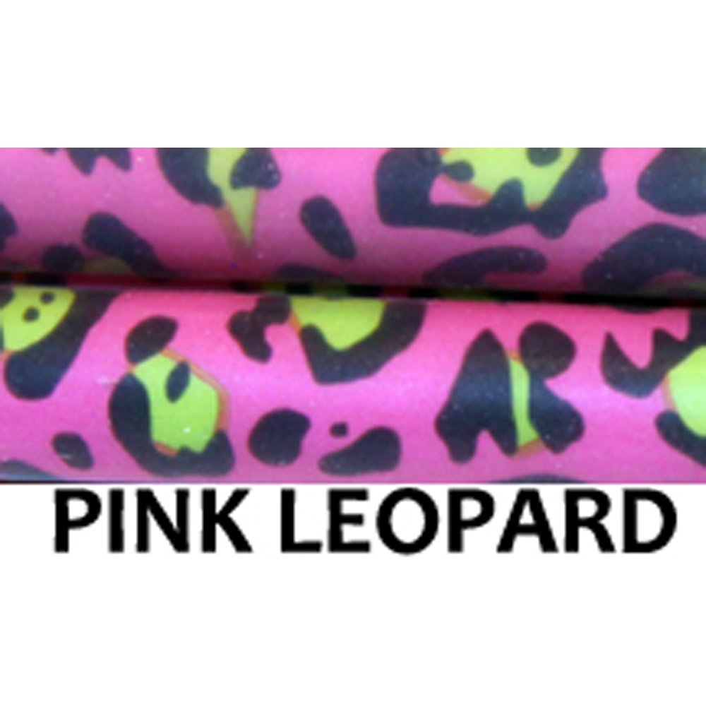 "Z-Stix Made to Order Handmade Juggling Sticks-Flower Sticks-Devil Sticks (Cruiser 27"",Pink Leopard) by Z-Stix (Image #1)"