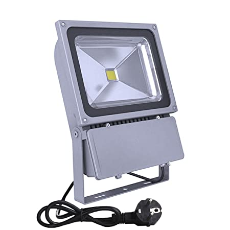 Noza tec-Foco proyector LED 100 w exterior IP 65-Foco de luz ...