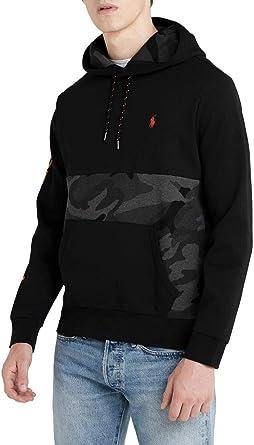 Polo Ralph Lauren Sudadera Camo Hood Negro XL Negro ...