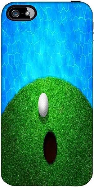 Snoogg Vicino Acqua Palla Da Golf Motivo Sfondo Cover Posteriore
