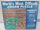 World's Most Difficult Jigsaw Puzzle Baseball