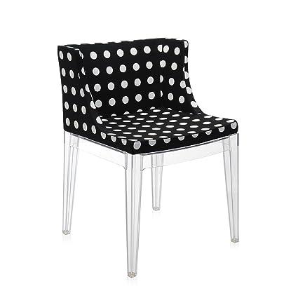 Kartell Mademoiselle   Black Pois Armchair (Original Made In Italy)