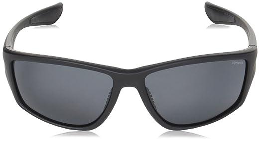Polaroid Sport PLD 7015/S M9, Occhiali da Sole Uomo, Black, 64