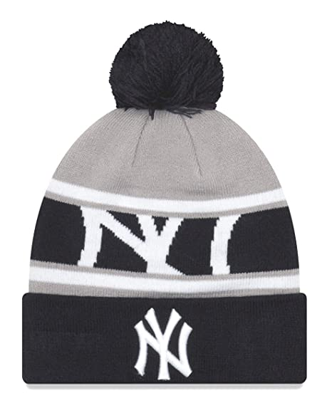 free shipping b9770 83c20 Image Unavailable. Image not available for. Color  New Era New York Yankees  MLB Callout Pom Cuffed Knit Hat ...