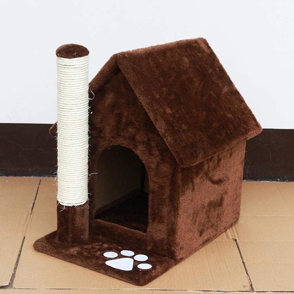 Deluxe Multi Cat Tower Cat Climbing Frame cat Tree Cat House cat Toy Pet Supplies 50cm 30cm  47cm