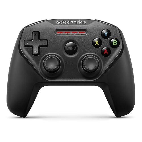 SteelSeries Nimbus - Wireless Gaming-Controller - Bluetooth - 12 Tasten - Wiederaufladbar - iOS/Apple TV/iPad/iPhone/Mac - Schwarz