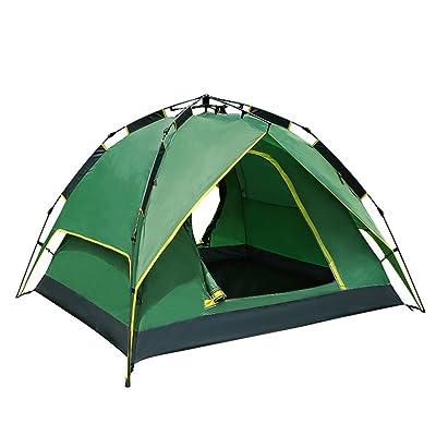 Tente Extérieure 2-3 Personnes Tentes De Camping Sauvages Tentes Automatiques Construites Pour Prévenir La Pluie, Automatique Speed Open Field Camping Beach Tent Set