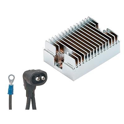 ACCEL 201122C Chrome Hybrid Design Voltage Regulator: Automotive