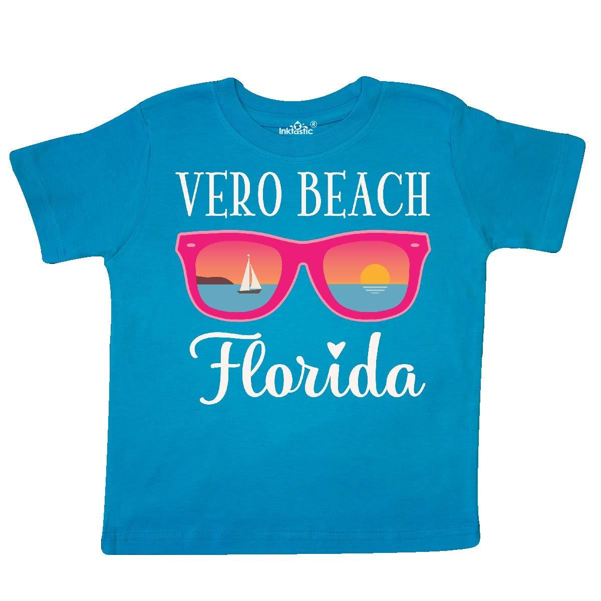 inktastic Vero Beach Florida Vacation Trip Toddler T-Shirt