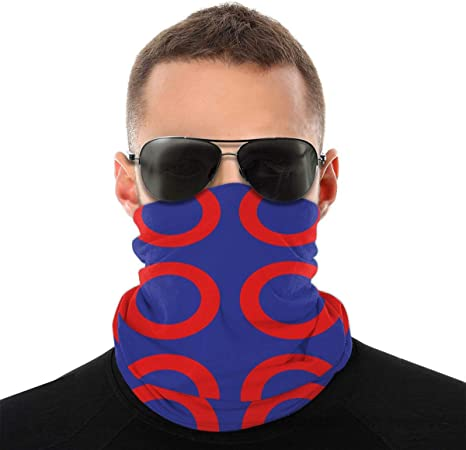 Face Mask Dust Wind Neck Gaiter Bandana Headwear Face Scarf