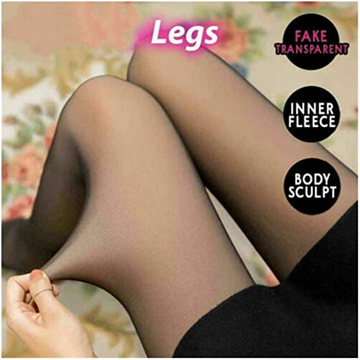 Thermal Winter Tights Girls winter tights Opaque Warm Fleece Lined Tights