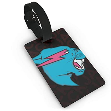 Amazon com: Mr Beast Luggage Tags Travel Accessories