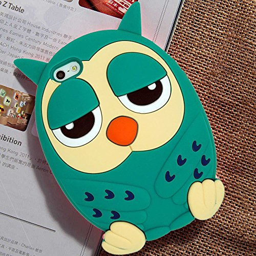 3D Cartoon Panda Soft Silicone Gel Back Case Cover For iPhone 6/6s - 7