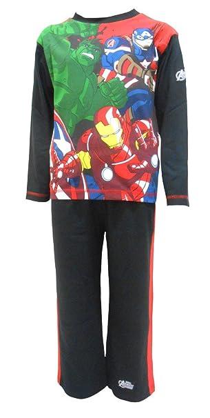 Marvel Avengers Niños Pijamas 7-8 años