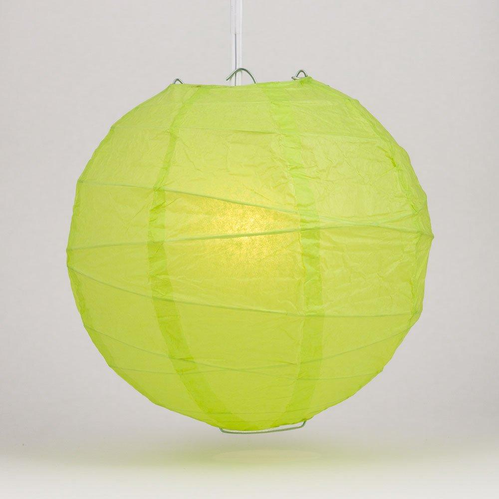丸型ペーパーランタン 交差した骨 吊り下げ式 10 Inch 10IRR-LL 1 B00THPRAZC 10 Inch|Light Lime Green Light Lime Green 10 Inch