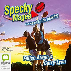Specky Magee and a Legend in the Making Audiobook