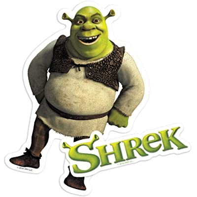 Popfunk Shrek Logo and Ogre Collectible Stickers: Home & Kitchen