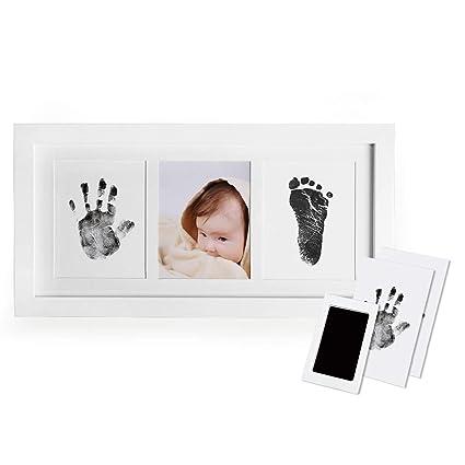 Amazon Upala Baby Handprint Footprint Photo Frame Kit Newborn