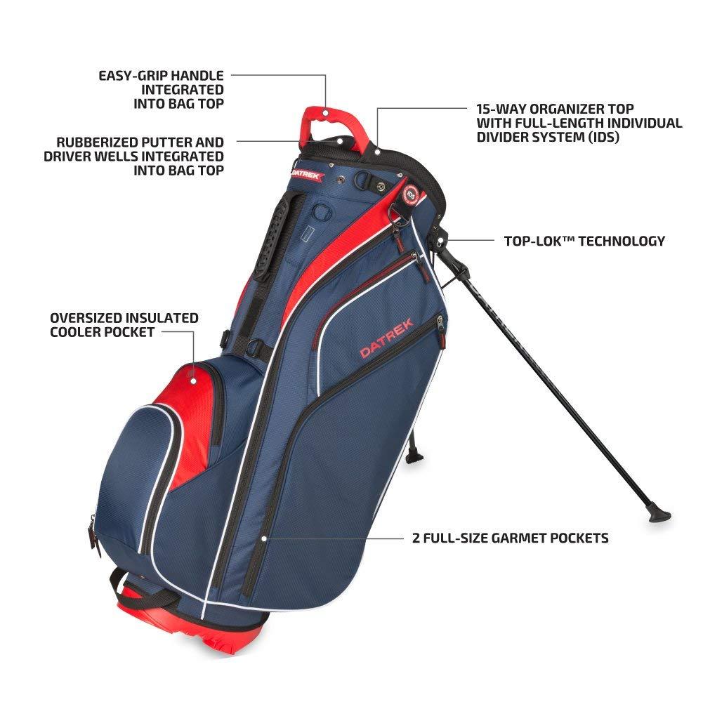 Amazon.com: Datrek Golf Go Lite Hybrid Stand Bag (negro ...