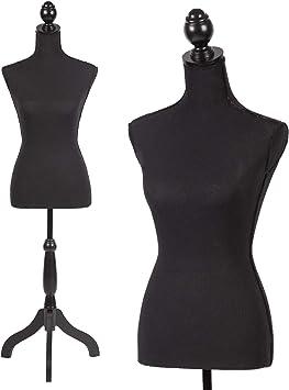 female dress mannequin torso stand