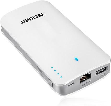 TeckNet® Power Bank 9000mAH Portable Charger Battery Pack USB ...