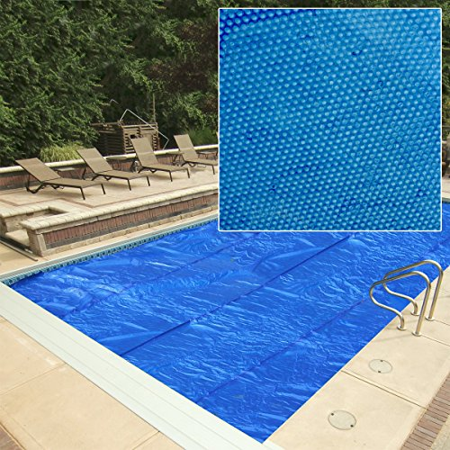 Splash Pools SCV 1812 Solar Blanket for Oval Pools, 18 by 12-Feet