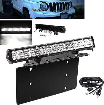 Fit TOYOTA 4Runner Tacoma 20Inch LED Light Bull Bar Combo Beam RAV4+2x 18W Pods