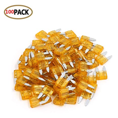 5 Pack 3A Mini Blade Style Fuses APM//ATM 32V Short Circuit Protection Car Fuse