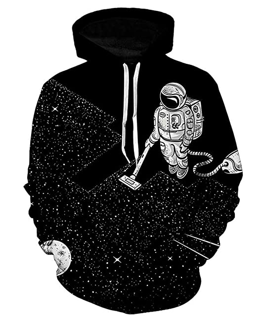 Sudaderas con Capucha Unisex Hombre Mujer 3D Impreso Digitalmente Manga Largo Pullover Sudadera Moda Sudadera con Capucha Streetwear Swag Ropa Tendencia ...