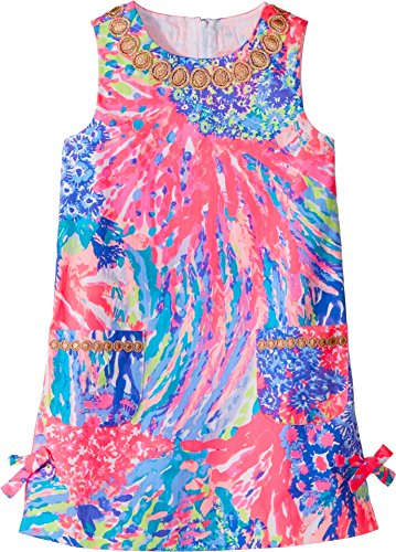 Lilly Pulitzer Little Girls' Lilly Classic Shift, Multi Rainbow Soleil, 8