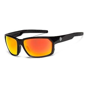 b89493dcc533 Revant F1L Sunglasses Polarized Sports Sunglasses - Ultralight Durable  Matte Black Frame - for Men