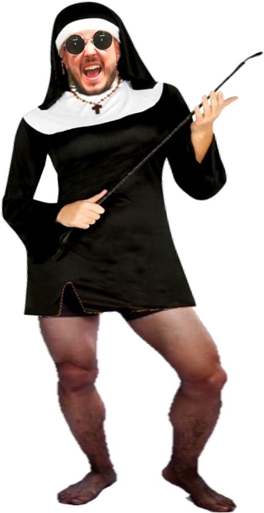 Disfraz de Monja sexy para hombre - Hombre, L: Amazon.es: Ropa y ...