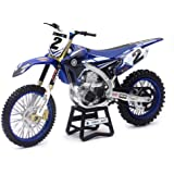 NewRay 1:12 Motorcycles - Yamaha YZ450F - Yamaha Factory Racing - Cooper WEBB #2 57893