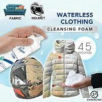 Waterless Clothing Cleansing Foam 150ML, Tapicerías y más, spray limpiador de ropa