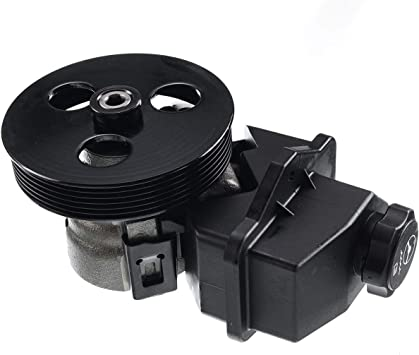 2006-2007 Chevrolet Monte Carlo Steering Pumps TUPARTS Power Steering Pump with Reservoir and Pulley Fit for 2006-2011 Chevrolet Impala