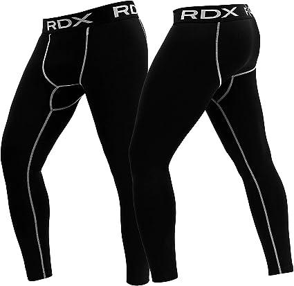 High-elastic Mens Compression Leggings Fitness Gym Sports Base Layer Pants GW