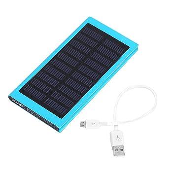 Cargador solar Power Bank 8000mAh, cargador portátil con una ...