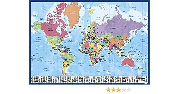 Grupo Erik Editores Vade Escolar Mapa Do Mundo (Editado en Portugués): Amazon.es: Oficina y papelería