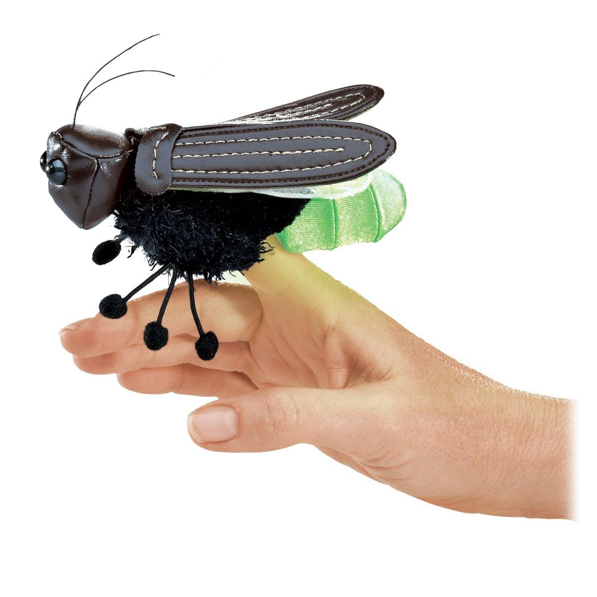 Folkmanis Mini Firefly Finger Puppet Folkmanis Puppets 2728