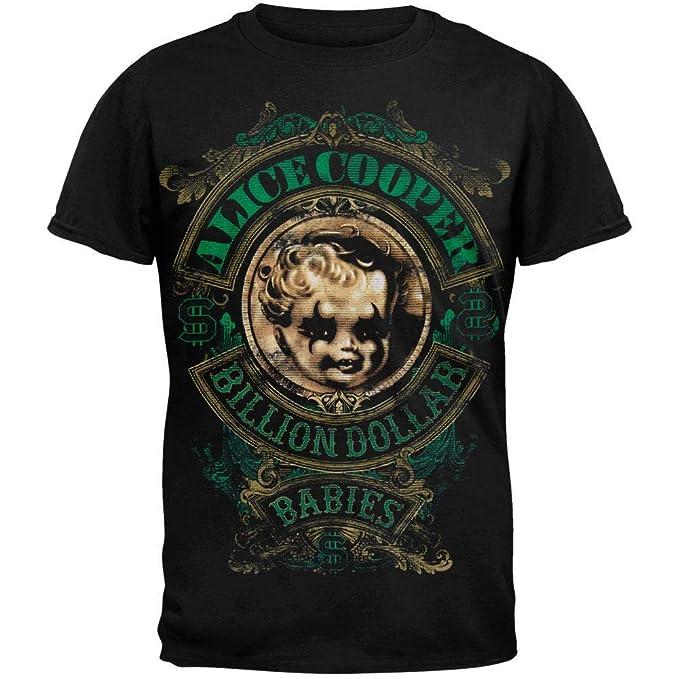 73a416bb3 Amazon.com: Alice Cooper - Billion Dollar Babies Tour T-shirt ...