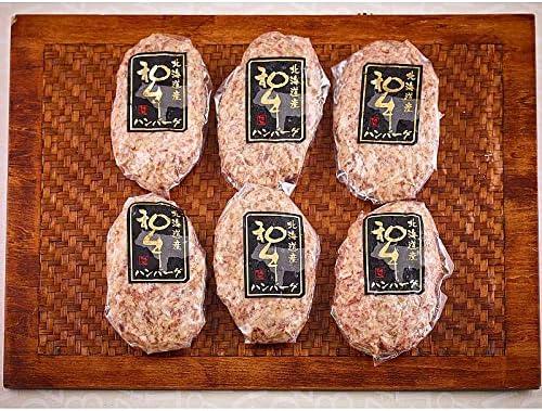 ( 産地直送 お取り寄せグルメ ) 北海道 びらとり和牛入手造りハンバーグ 6枚