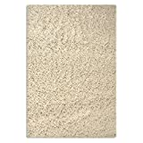 """Sultansville Colorville Collection CVL-CR-35 High-Pile Soft Shag Area Rug, Cream 100 cm by 150 cm (3'3""""X5')"""