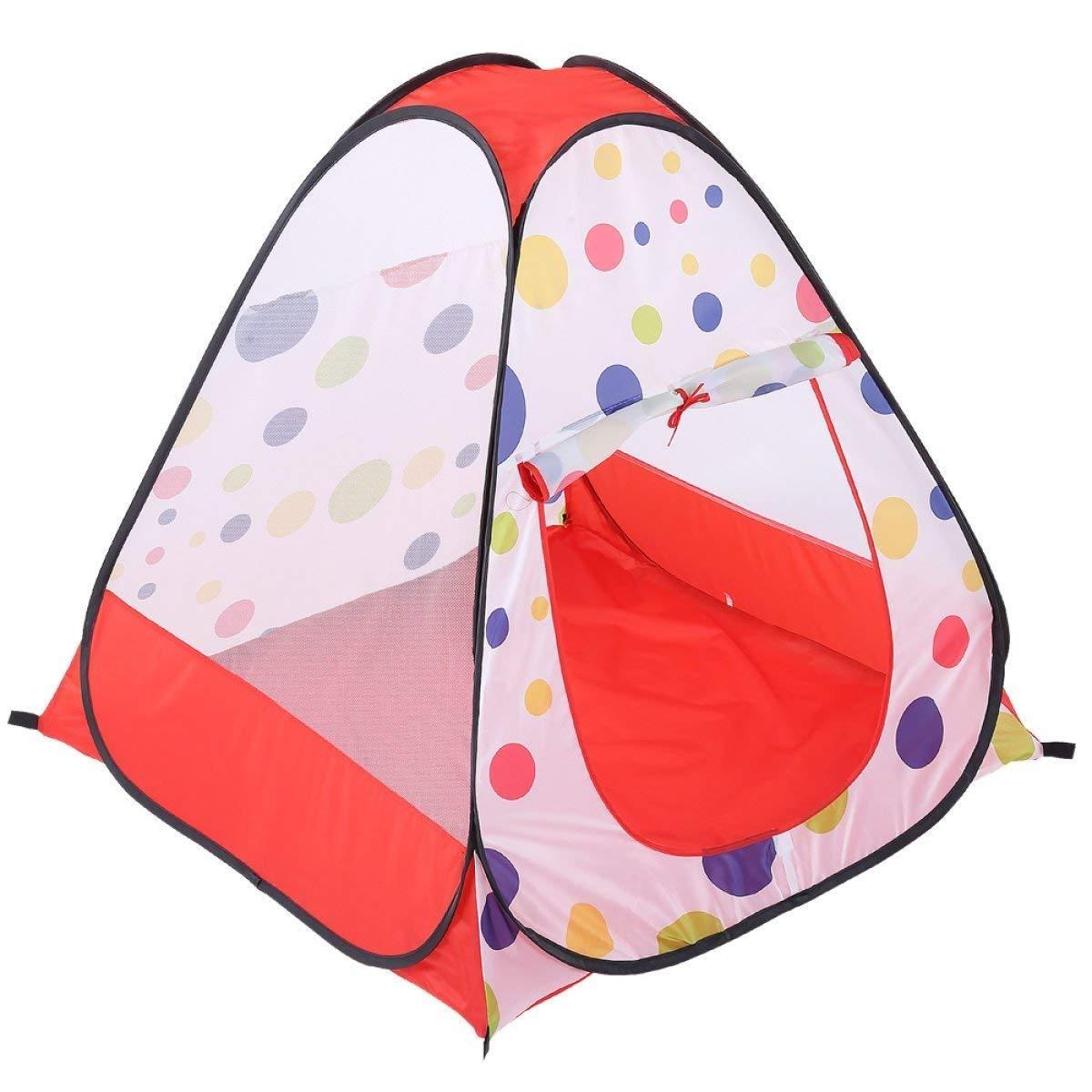 Mings Kinder Spielen Zelt farbpunkte dot net garn Vier Ball Pool Spiel Haus Baby yurt
