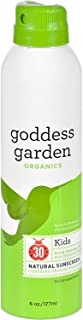 product image for Goddess Garden Organic Sunscreen - Sunny Kids Natural SPF 30 Continuous Spray - 6 oz (Pack of 4)